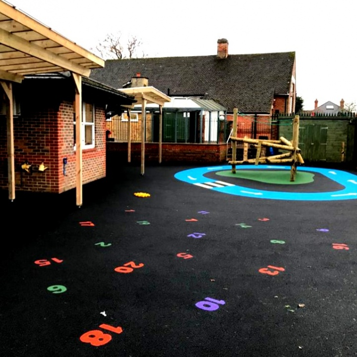 Playground Equipment and Surface Kent
