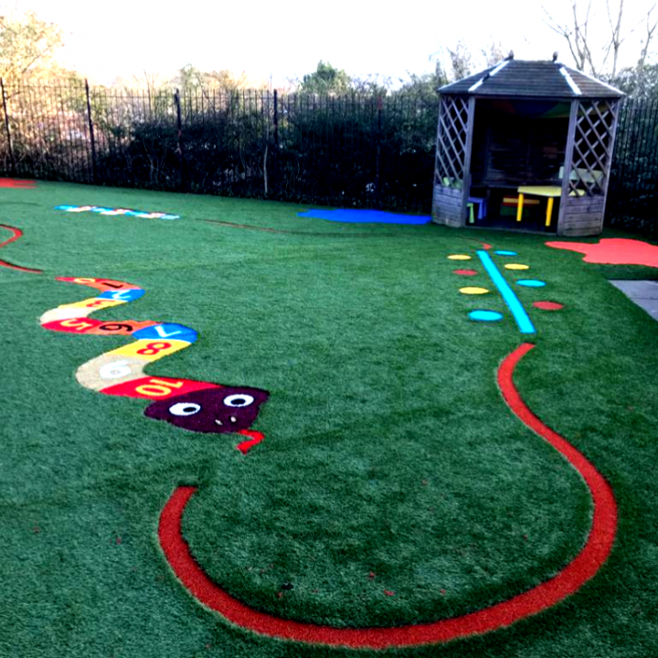 School Artificial Grass Graphics Kent