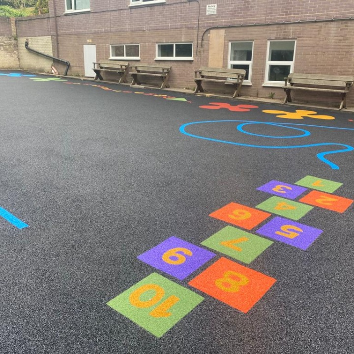 School Playground Surface Kent